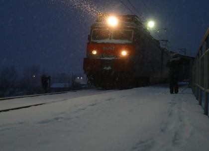 В непогоду грузовой поезд задавил женщину на Новой Баварии