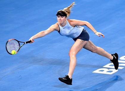 Теннис. Харьковчанка Свитолина прекращает борьбу в Австралии