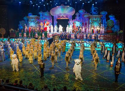 В харьковском Дворце спорта для детей проходит сказочное шоу «Джинн Всемогущий»