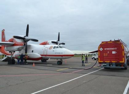 Природные и техногенные ЧП 7 тысячам харьковских спасателей на праздники помогут предотвращать дежурство специализированного самолета