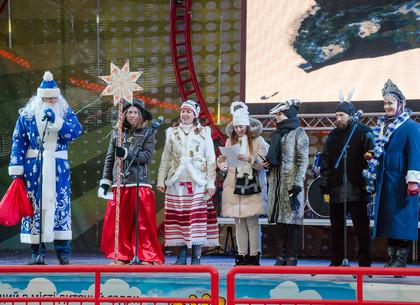 Как отмечают Рождество в парке Горького (ФОТО)