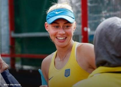 15-летняя харьковская теннисистка выиграла турнир в Гонконге (ВИДЕО)