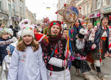 Вертеп-фест в Харькове: концерт у ХНАТОБа, парад и массовое исполнение колядки