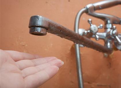 Где в Харькове не будет воды 10 января. Список адресов
