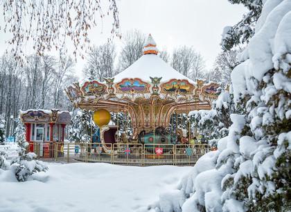 Парк Горького после снегопада (ФОТО)