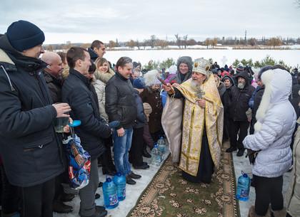 Праздник Крещения Господня в Новобаварском районе Харькова