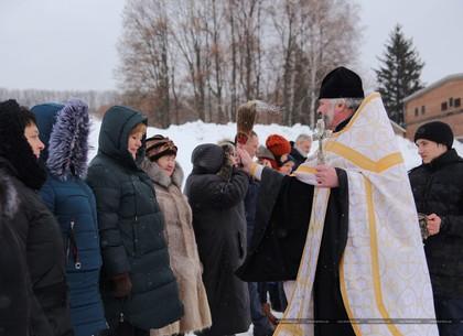 Крещение: КП «Харьковводоканал» освящена вода на комплексах водоподготовки
