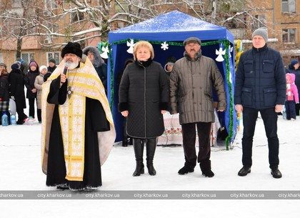 Праздник Крещения отметили в Немышлянском районе (ФОТО)