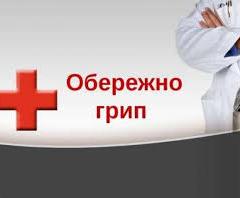 Заболеваемость гриппом в Харькове на 38% ниже эпидпорога