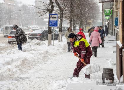 Средняя температура в Харькове ниже, чем в Карпатах, а снега выпало больше (КАРТЫ)