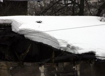 Под Харьковом рухнула крыша дома
