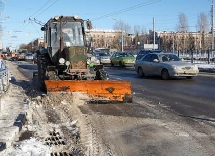 Почти 50 машин убирают город