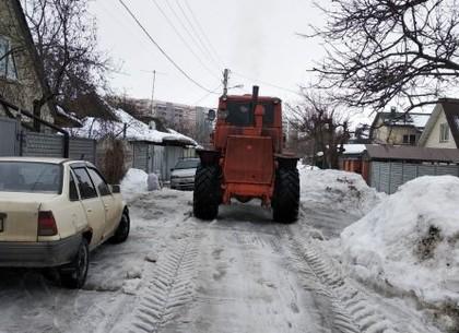 Слободской район: дороги частного сектора очищены от снега