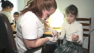 Харьковских школьников проверили на иммунитет от кори