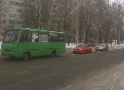 Маршрутка устроила ДТП на Краснодарской