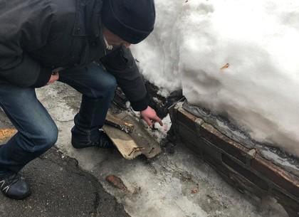 Наркозакладчик с Малиновского прятал зелье в... бетон