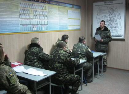 Харьковские спецслужбы провели подготовку персонала по предотвращению ЧП в колонии