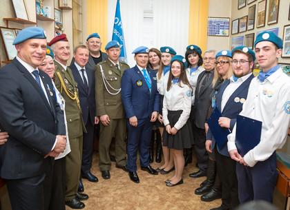 Юные миротворцы Харькова встретились с ветеранами миротворческих миссий ООН