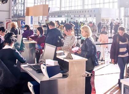 Харьковский аэропорт почти в полтора раза увеличил пассажиропоток