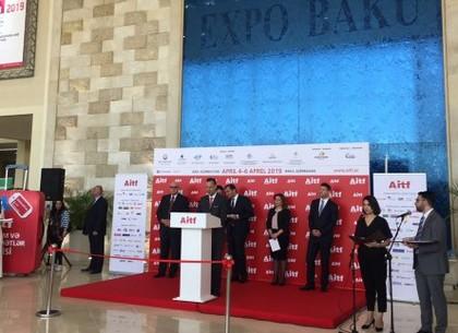 Харьков впервые представили на туристической выставке в Баку