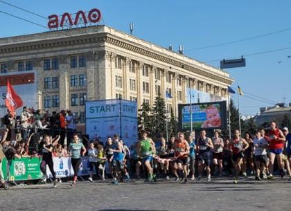 Харьковский марафон: движение транспорта запрещено
