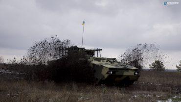 Харьковские оружейники представили новейший образец командно-штабной БТР  (ФОТО, ВИДЕО)