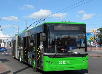 С лета по Харькову начнут курсировать новые троллейбусы