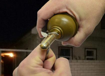 Бросил гранату во время ссоры: полиция задержала злоумышленника