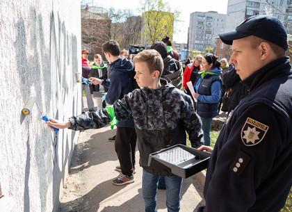 В Харькове состоялась акция по борьбе с наркотиками среди несовершеннолетних