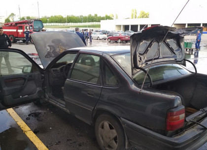 Очередная жертва пожара на парковке