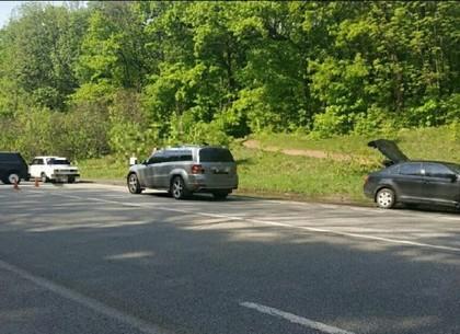 В результате утренней аварии на Окружной дороге пострадали три человека (ВИДЕО, ОБНОВЛЕНО)