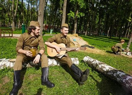 День Победы в парке Горького: программа