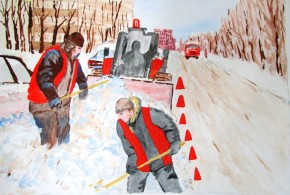 Рисунок юного харьковского лицеиста поддержали десятки тысяч украинцев