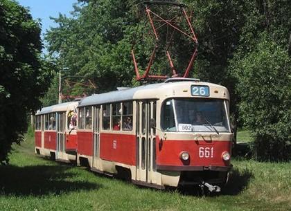 На три дня 16-й и 26-й трамваи изменят маршрут