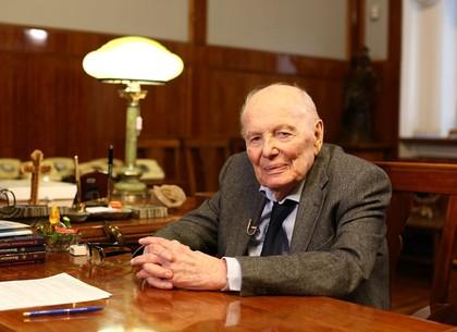 Ко Дню науки на «Интере» – «Интервью столетия» с академиком Борисом Патоном