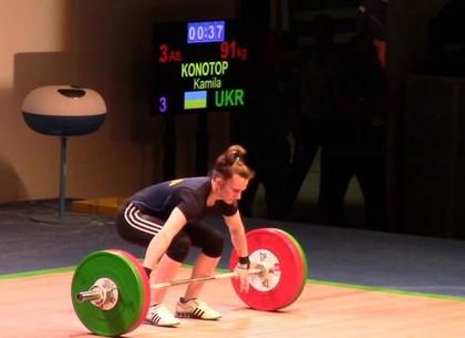 Харьковская атлетка установила три рекорда Украины