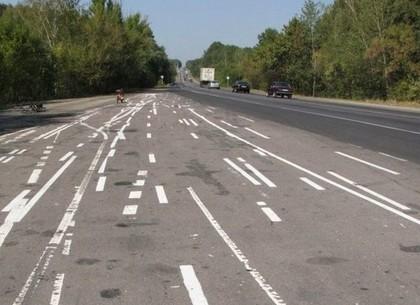 По осени на дорогах сузят крайние левые полосы