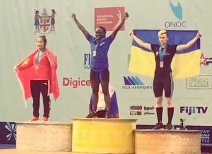 Харьковская тяжелоатлетка завоевала «малую бронзу» на чемпионате мира