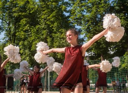 В Харькове прошел фестиваль пляжного черлидинга (ФОТО)