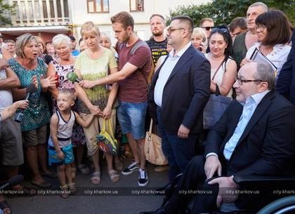 Геннадий Кернес встретился с жителями Северной Салтовки (ФОТО)