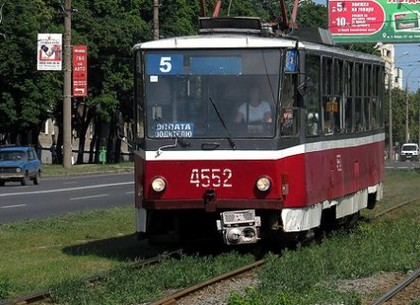 В среду пятый трамвай пойдет по другому маршруту