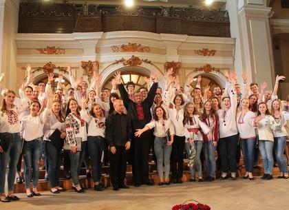 В центре Харькова устроят хоровой флешмоб