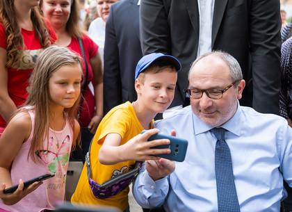 Геннадий Кернес провел встречу с жителями Шишковки (ФОТО)