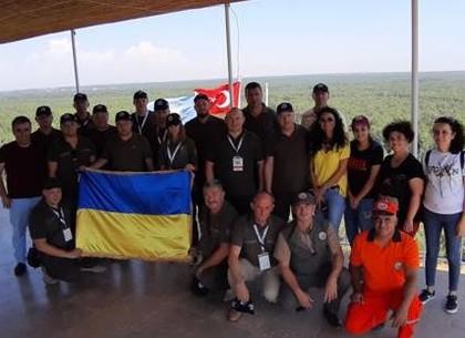 Харьковские лесники прошли учения по тушению лесных пожаров в Турции (ФОТО)