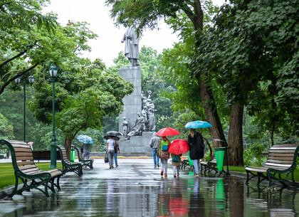 Дождь в Харькове (ФОТО)