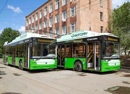 В Харьков поступили новые троллейбусы (ФОТО)