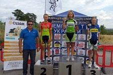 Юные харьковские велогонщики успешно выступили на чемпионатах Украины