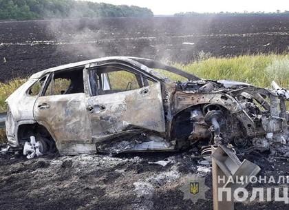Тройное ДТП под Харковом - один из пострадавших выгорел дотла (ФОТО, ВИДЕО, обновлено)