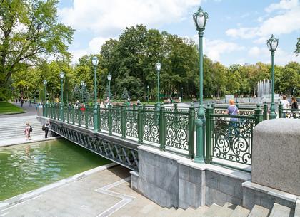 Центральная часть сада Шевченко после реконструкции (ФОТО)