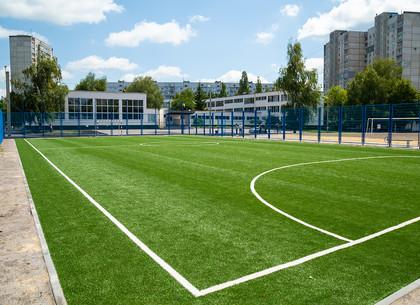 В Харькове продолжается реконструкция школьных стадионов (ФОТО)